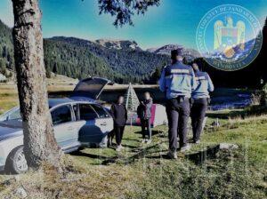 JANDARMERIA: Jandarmii montani au continuat acțiunile de informare pentru protecția mediului înconjurător