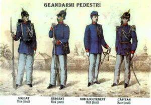 ISTORIE: 1SEPTEMBRIE 1893 – ÎNFIINŢAREA JANDARMERIEI RURALE ÎN ROMÂNIA