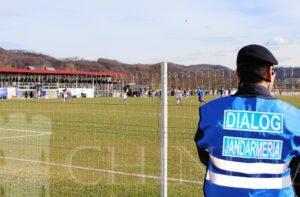 JANDARMERIA: Măsuri de ordine publică la meciul de fotbal AFC Pucioasa – CSM Flacăra Moreni