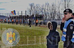 IJJ DÂMBOVIȚA: Meci de fotbal din Cupa României vegheat de jandarmii dâmbovițeni