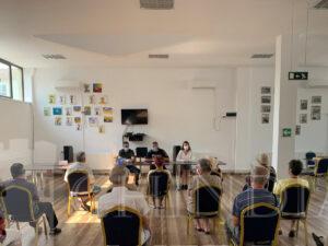 IPJ DAMBOVITA:  Activități de informare, desfășurate de polițiști la Clubul Pensionarilor din Târgoviște