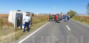 ULMI: Accident cu două victime