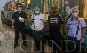 """IPJ DÂMBOVIȚA: """"Selfie-ul pe tren nu ia like-uri, ia vieți!"""", este mesajul polițiștilor de la prevenire"""