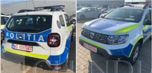 POLIȚIA: DACIA DUSTER pentru poliția rurală, ordine publică și rutieră
