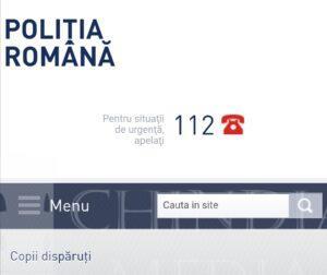 POLIȚIA: Se înființează o nouă structură specializată în găsirea copiilor dispăruți