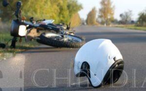 PRISEACA:  Un motociclist băut a provocat un accident