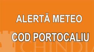 METEO: Cod portocaliu de instabilitate atmosferică