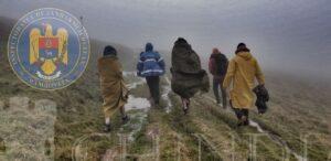 Jandarmeria și Salvamont: Ajutor pentru doi turiști surprinși de o ploaie torențială în munții Bucegi