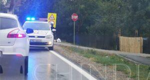 DRAGODANA: Biciclist accidentat de un camion
