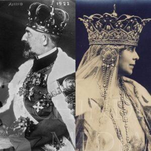 15 octombrie 1922- ziua în care au fost încoronați Regele Ferdinand și Regina Maria la Alba Iulia