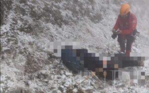 BUCEGI: UN BĂRBAT A MURIT DUPĂ CE A ALUNECAT ÎNTR-O PRĂPASTIE
