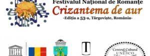 """Programul Festivalului Naţional de Interpretare şi Creaţie a Romanţei """"Crizantema de Aur"""", editia a-53 a, 2020"""