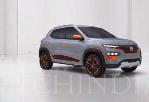 Dacia Spring, prima masina romaneasca, total electrica, prezentata oficial in luna octombrie