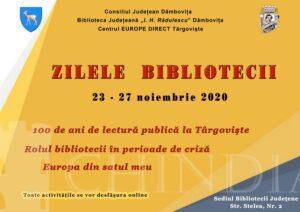 """CULTURAL: Zilele Bibliotecii Judeţeane """"Ion Heliade Rădulescu"""""""
