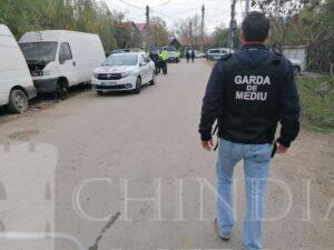 Garda de Mediu a finalizat controalele împotriva celor care colectează și ard ilegal deșeuri la Balteni