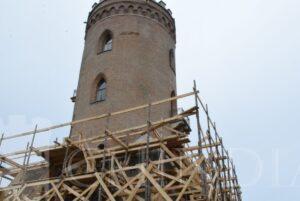 TÂRGOVIȘTE : Stadiul lucrărilor de restaurare de la Complexul Național Muzeal Curtea Domnească Târgoviște