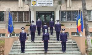 8 noi agenți de poliție, la început de carieră, în cadrul Inspectoratului de Poliție Județean Dâmbovița