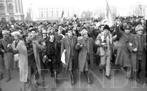 """22 DECEMBRIE 1989 -""""Ole, Ole, Ole, Ole…Ceușescu nu mai e!"""""""
