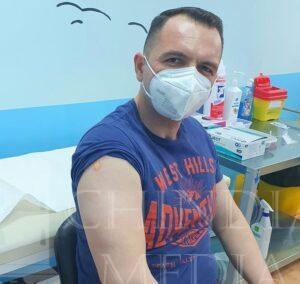 """Daniel Cristian Stan: """"Eu cred că vaccinul este soluția pentru a depăși pandemia."""""""