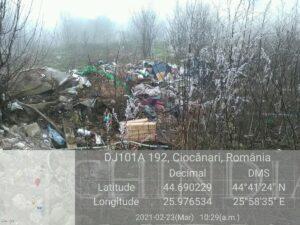 Garda de Mediu Dâmbovița a amendat Primăria Niculești cu 15.000 lei pentru nerespectarea regimului deșeurilor
