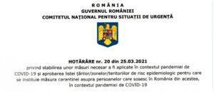 GUVERN: Program redus pentru magazine şi restricţii de circulaţie începând cu ora 20.00