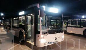 TÂRGOVIȘTE: Noile autobuze Mercedes Hybrid au început să circule pe traseele municipiului-VIDEO