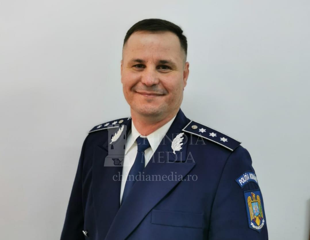 CMS. ȘEF DE POLIȚIE NUȚĂ ION ESTE NOUL ȘEF AL SERVICIULUI DE ORDINE PUBLICĂ AL IPJ DÂMBOVIȚA