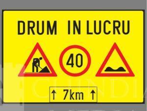 Avertizări și recomandări privind circulația rutieră, pe unele sectoare de drum din Dâmbovița