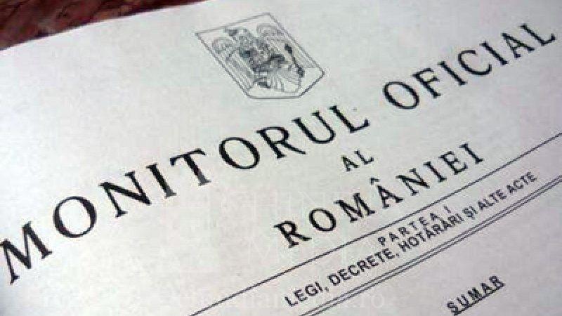 Monitorul Oficial al României va fi disponibil gratuit în format electronic