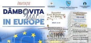 C.J.Dâmbovița: Ziua Europei va fi marcată la Târgoviște și la Palatul Brâncovenesc de la Potlogi