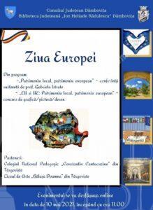 """Manifestări dedicate Zilei Europei, susținute de Biblioteca Județeană """"I. H. Rădulescu"""""""