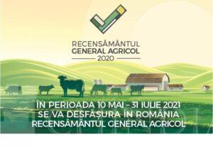 Recensământul General Agricol – runda 2020