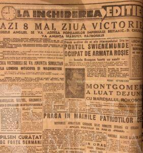 8 MAI 1945- ZIUA VICTORIEI ÎN EUROPA